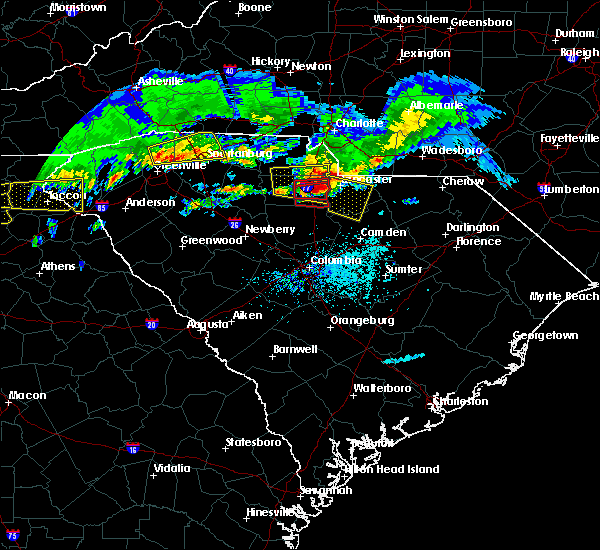 Radar Image for Severe Thunderstorms near Heath Springs, SC at 5/5/2020 6:48 PM EDT
