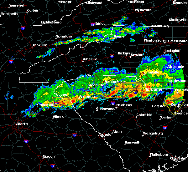 Radar Image for Severe Thunderstorms near Gumlog, GA at 5/5/2020 8:08 PM EDT