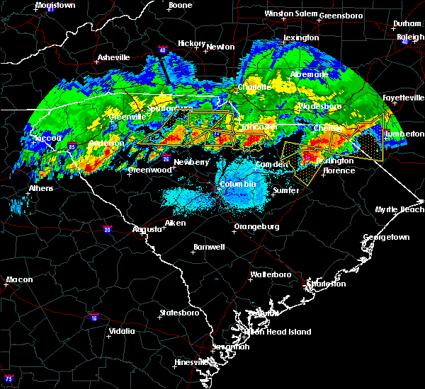 Radar Image for Severe Thunderstorms near Society Hill, SC at 5/5/2020 8:26 PM EDT