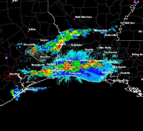 Radar Image for Severe Thunderstorms near Beaumont, TX at 5/5/2020 9:10 PM CDT