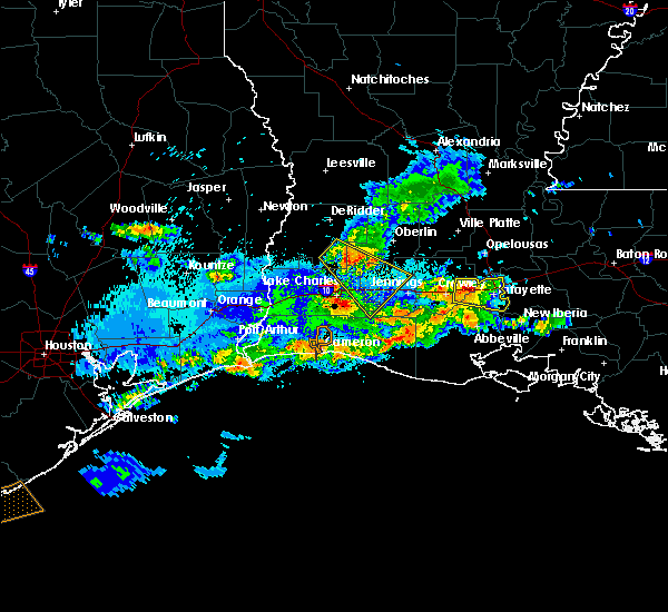 Radar Image for Severe Thunderstorms near Milton, LA at 5/5/2020 10:05 PM CDT