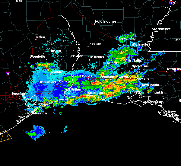 Radar Image for Severe Thunderstorms near Milton, LA at 5/5/2020 10:29 PM CDT