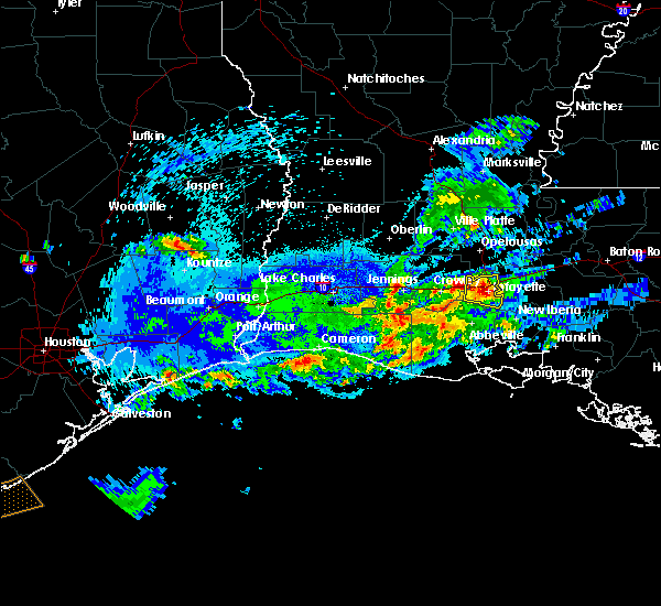 Radar Image for Severe Thunderstorms near Milton, LA at 5/5/2020 10:44 PM CDT
