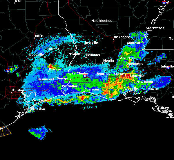 Radar Image for Severe Thunderstorms near Milton, LA at 5/5/2020 11:02 PM CDT