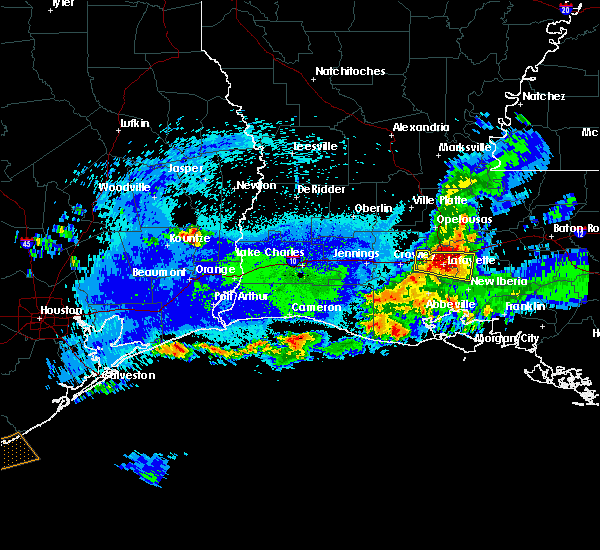 Radar Image for Severe Thunderstorms near Milton, LA at 5/5/2020 11:15 PM CDT