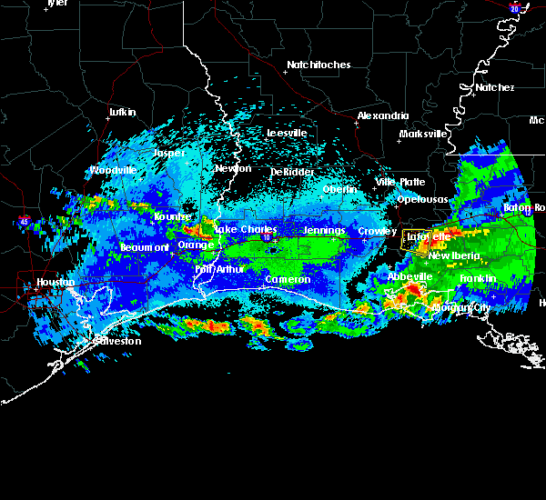 Radar Image for Severe Thunderstorms near Mauriceville, TX at 5/5/2020 11:48 PM CDT