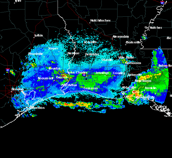 Radar Image for Severe Thunderstorms near Vidor, TX at 5/6/2020 12:06 AM CDT