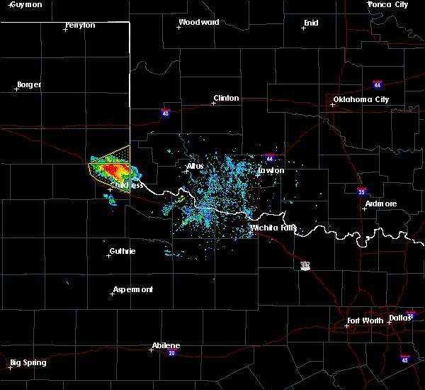 Radar Image for Severe Thunderstorms near East Duke, OK at 5/7/2020 5:24 PM CDT