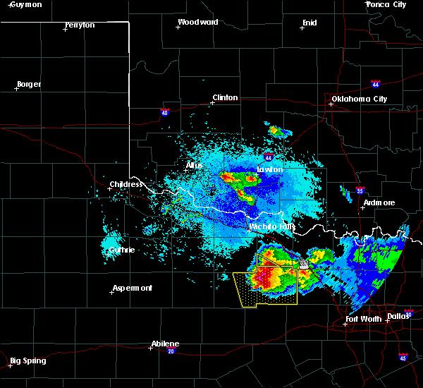 Radar Image for Severe Thunderstorms near Medicine Park, OK at 5/7/2020 9:10 PM CDT
