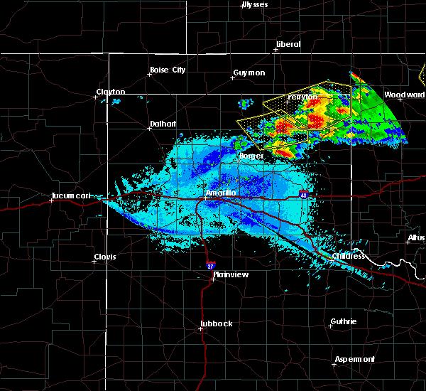 Radar Image for Severe Thunderstorms near Wheeler, TX at 5/7/2020 10:18 PM CDT