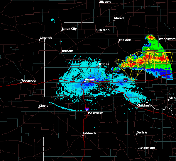 Radar Image for Severe Thunderstorms near Wheeler, TX at 5/7/2020 11:05 PM CDT