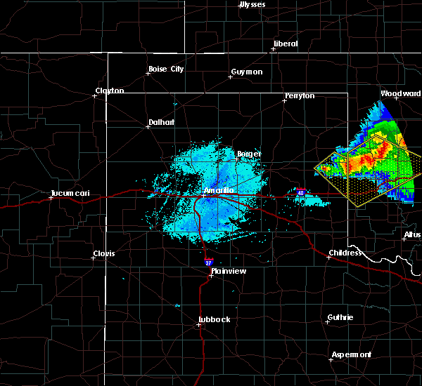 Radar Image for Severe Thunderstorms near Texola, OK at 5/7/2020 11:37 PM CDT