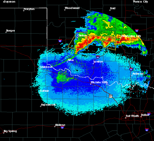 Radar Image for Severe Thunderstorms near Gotebo, OK at 5/8/2020 12:48 AM CDT