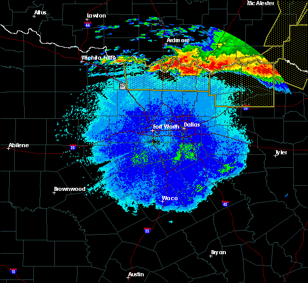 Radar Image for Severe Thunderstorms near Preston, TX at 5/8/2020 3:49 AM CDT