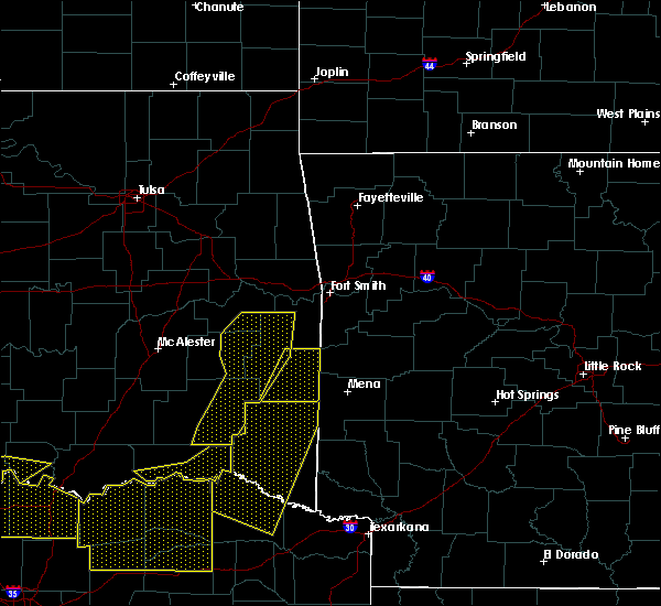 Radar Image for Severe Thunderstorms near Poteau, OK at 5/8/2020 3:50 AM CDT