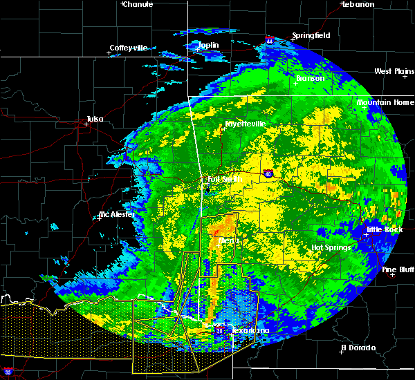 Radar Image for Severe Thunderstorms near Norman, AR at 5/8/2020 4:27 AM CDT