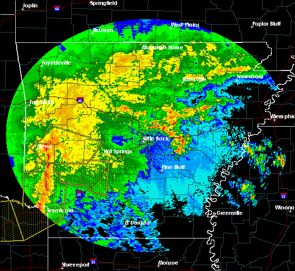 Radar Image for Severe Thunderstorms near Friendship, AR at 5/8/2020 4:36 AM CDT