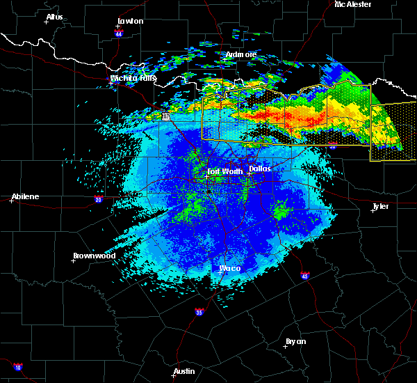 Radar Image for Severe Thunderstorms near Van Alstyne, TX at 5/8/2020 4:48 AM CDT