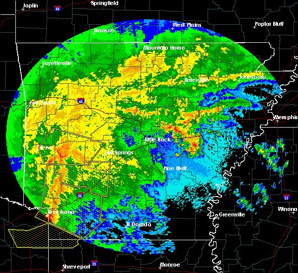 Radar Image for Severe Thunderstorms near Friendship, AR at 5/8/2020 4:57 AM CDT