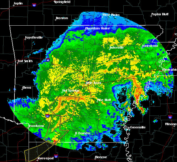 Radar Image for Severe Thunderstorms near Sparkman, AR at 5/8/2020 5:43 AM CDT