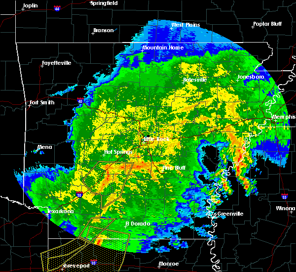 Radar Image for Severe Thunderstorms near Sparkman, AR at 5/8/2020 5:53 AM CDT
