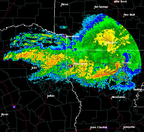 Radar Image for Severe Thunderstorms near Claiborne, LA at 5/8/2020 7:12 AM CDT