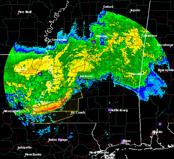 Radar Image for Severe Thunderstorms near Crystal Springs, MS at 5/8/2020 9:30 AM CDT
