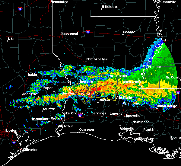 Radar Image for Severe Thunderstorms near Ville Platte, LA at 5/8/2020 1:51 PM CDT