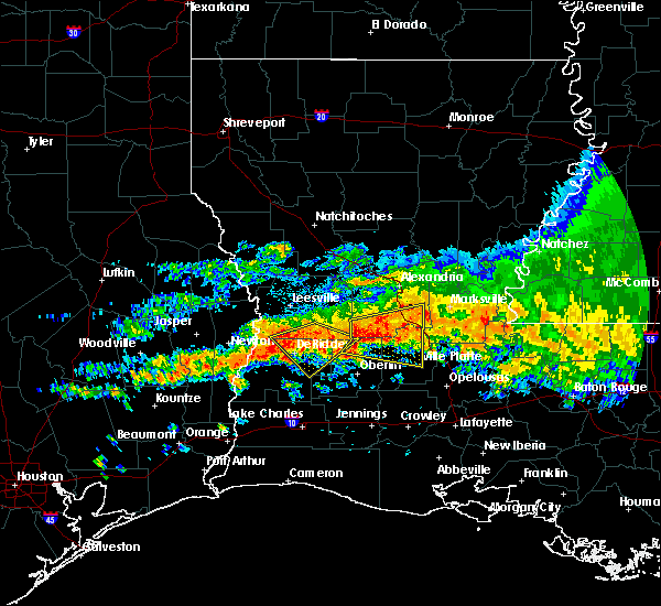 Radar Image for Severe Thunderstorms near Ville Platte, LA at 5/8/2020 2:03 PM CDT