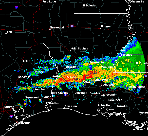 Radar Image for Severe Thunderstorms near Ville Platte, LA at 5/8/2020 2:19 PM CDT