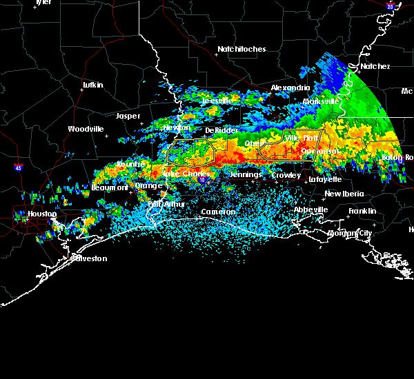 Radar Image for Severe Thunderstorms near Moss Bluff, LA at 5/8/2020 3:12 PM CDT