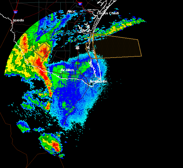Radar Image for Severe Thunderstorms near Santa Anna, TX at 5/8/2020 10:03 PM CDT