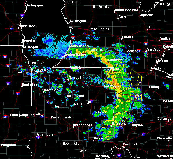 Radar Image for Severe Thunderstorms near Cairo, OH at 5/10/2020 2:49 PM EDT