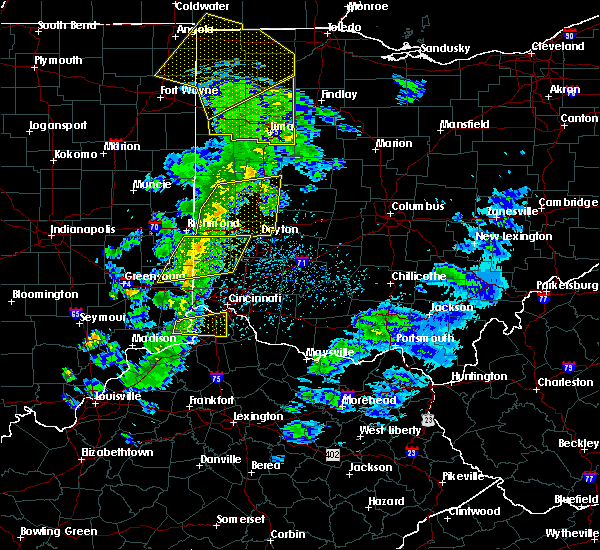 Radar Image for Severe Thunderstorms near Brookville, OH at 5/10/2020 3:07 PM EDT