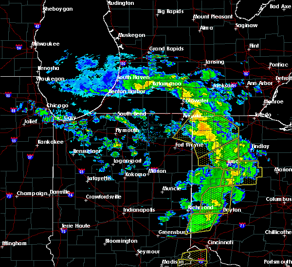 Radar Image for Severe Thunderstorms near Lafayette, OH at 5/10/2020 3:20 PM EDT