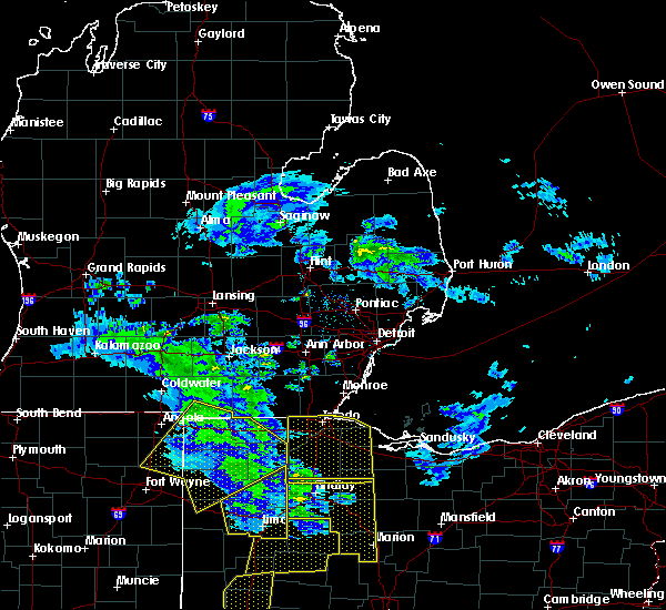 Radar Image for Severe Thunderstorms near Swanton, OH at 5/10/2020 3:23 PM EDT
