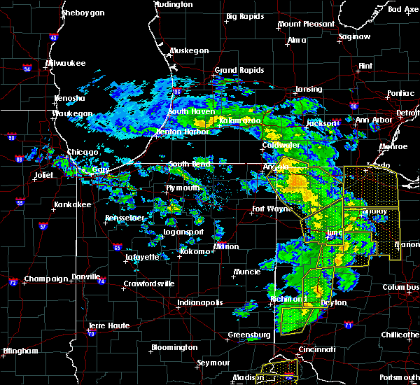 Radar Image for Severe Thunderstorms near Grover Hill, OH at 5/10/2020 3:25 PM EDT