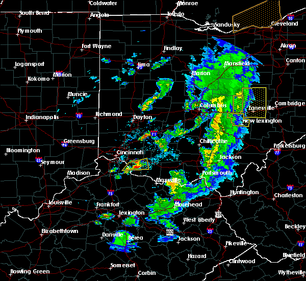 Radar Image for Severe Thunderstorms near Bethel, OH at 5/10/2020 5:48 PM EDT