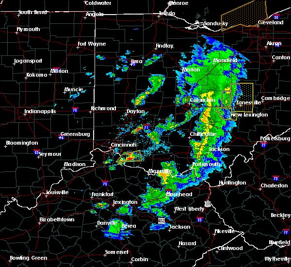 Radar Image for Severe Thunderstorms near Glenford, OH at 5/10/2020 5:50 PM EDT