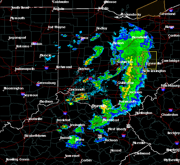 Radar Image for Severe Thunderstorms near Newark, OH at 5/10/2020 5:53 PM EDT