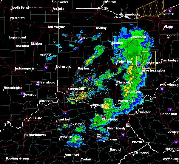 Radar Image for Severe Thunderstorms near Glenford, OH at 5/10/2020 5:59 PM EDT