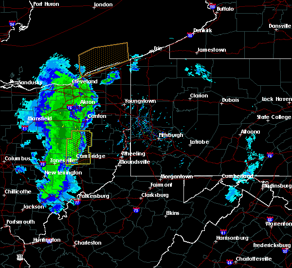 Radar Image for Severe Thunderstorms near Midvale, OH at 5/10/2020 6:38 PM EDT