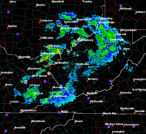 Radar Image for Severe Thunderstorms near Rutland, OH at 5/10/2020 8:58 PM EDT
