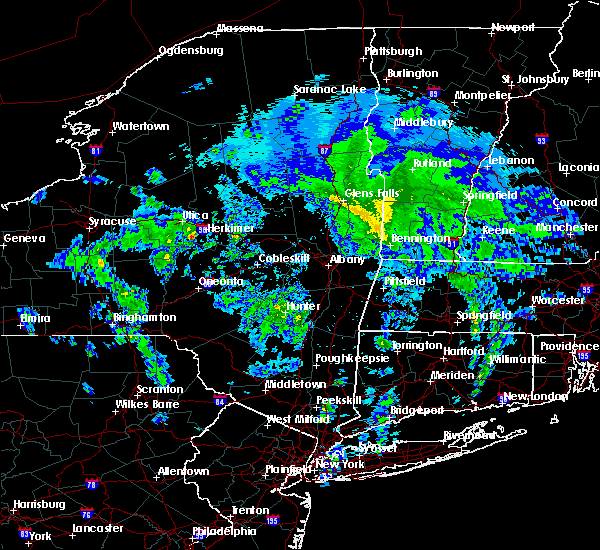 Radar Image for Severe Thunderstorms near Frankfort, NY at 5/11/2020 1:35 PM EDT