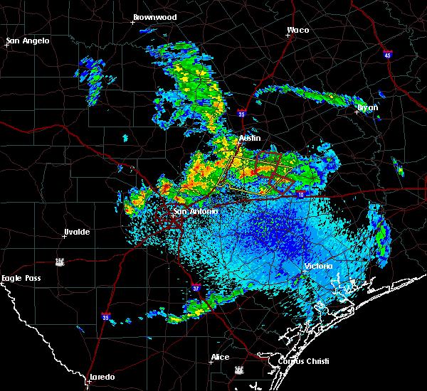 Radar Image for Severe Thunderstorms near Circle D-KC Estates, TX at 5/12/2020 9:51 AM CDT