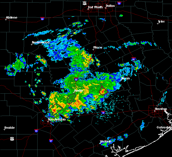 Radar Image for Severe Thunderstorms near Caldwell, TX at 5/12/2020 12:28 PM CDT
