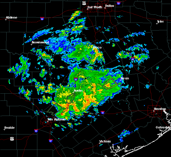 Radar Image for Severe Thunderstorms near Caldwell, TX at 5/12/2020 1:18 PM CDT