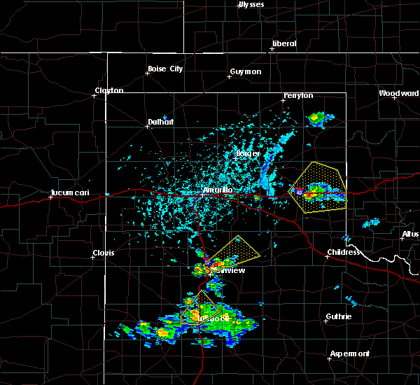 Radar Image for Severe Thunderstorms near Samnorwood, TX at 5/13/2020 4:34 PM CDT