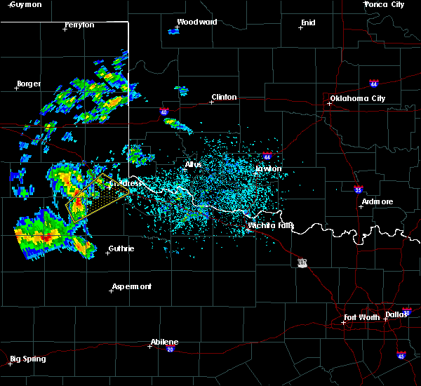 Radar Image for Severe Thunderstorms near Childress, TX at 5/13/2020 6:06 PM CDT