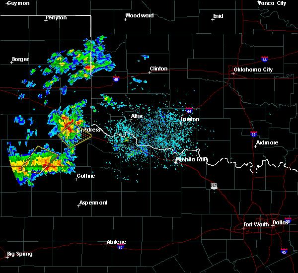 Radar Image for Severe Thunderstorms near Cheyenne, OK at 5/13/2020 6:35 PM CDT